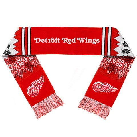 Detroit Red Wings Official NHL Lodge Scarf
