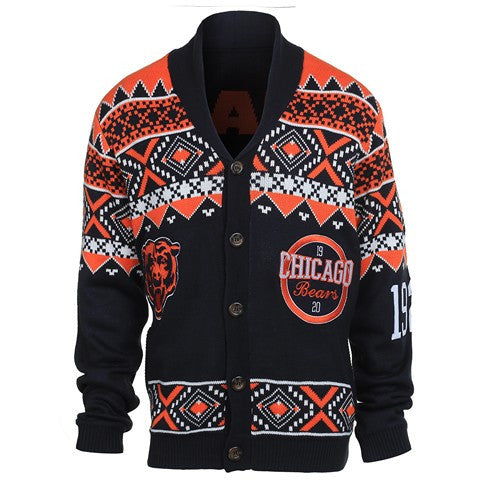 Chicago Bears Official NFL 2015 Ugly Cardigan