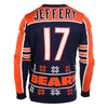 Chicago Bears Alshon Jeffery #17 Official NFL Player Ugly Sweater