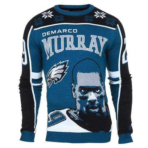 Philadelphia Eagles Murray D. #29 Official NFL 2015 Player Ugly Sweater