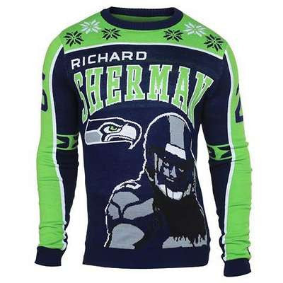 Seattle Seahawks Official NFL Ugly Sweater - Choose Your Style!