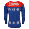 New York Giants Official NFL Light Up V-neck Sweater - Womens