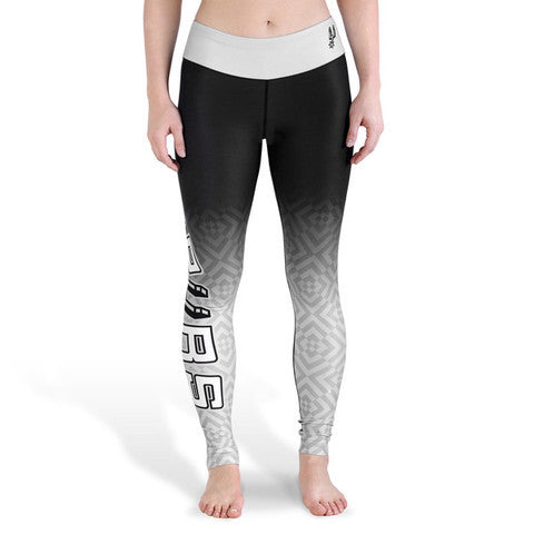 San Antonio Spurs Womens Official NBA Gradient Print Leggings