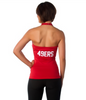 "San Francisco 49ers Women's Official ""Blown Coverage"" Halter"