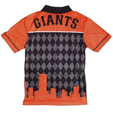 San Francisco Giants Official MLB Thematic Polyester Polo Shirt