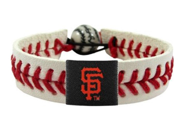 San Francisco Giants Reflective Baseball Bracelet
