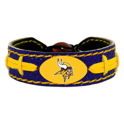 Minnesota Vikings Official NFL Team Color  Bracelet