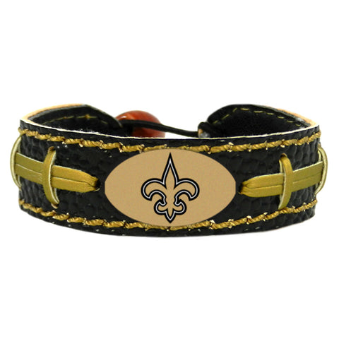 New Orleans Saints Official NFL Team Color  Bracelet