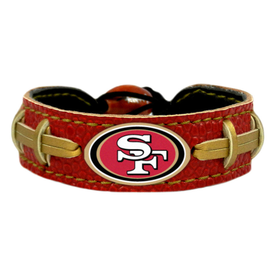 San Francisco 49Ers Official NFL Team Color  Bracelet