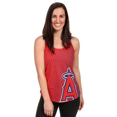 LOS ANGELES ANGELS Official MLB Womens Racerback Tank
