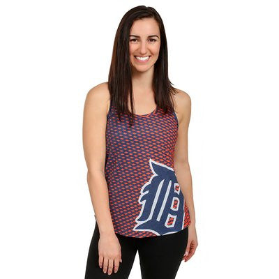 Detroit Tigers Official MLB Womens Racerback Tank