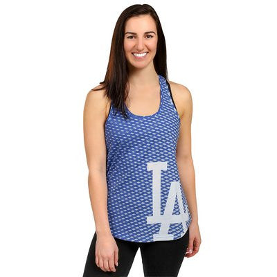 Los Angeles Dodgers Official MLB Womens Racerback Tank