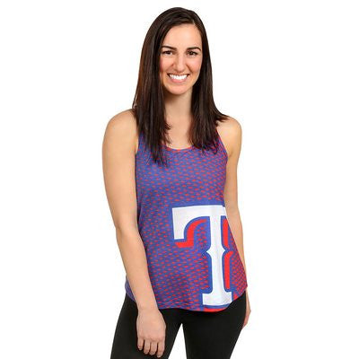 Texas Rangers Official MLB Womens Racerback Tank