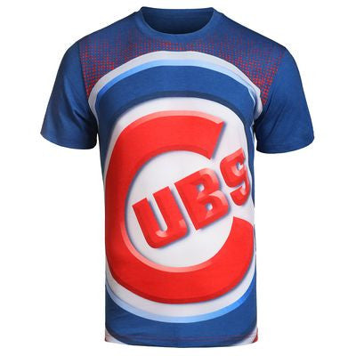 Chicago Cubs Official MLB Big Logo T-Shirt