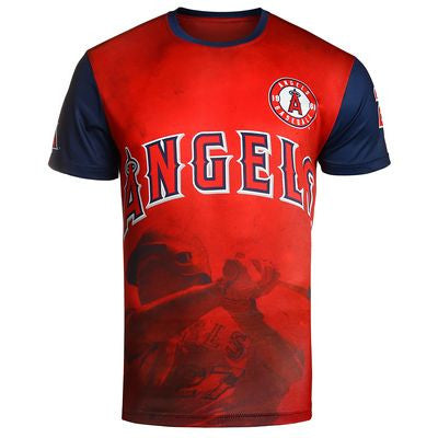 Los Angeles Angels Trout M. #27 Official MLB T-Shirt