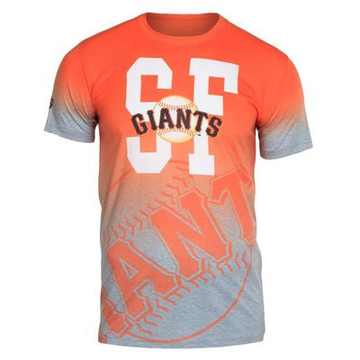 San Francisco Giants Official MLB Gradient Sublimated T-shirt