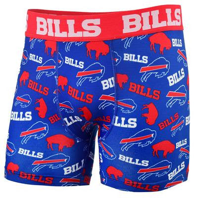 Buffalo Bills Official NFL Repeat Logo Comression Underwear