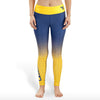 West Virginia Mountaineers Womens Gradient Print Leggings
