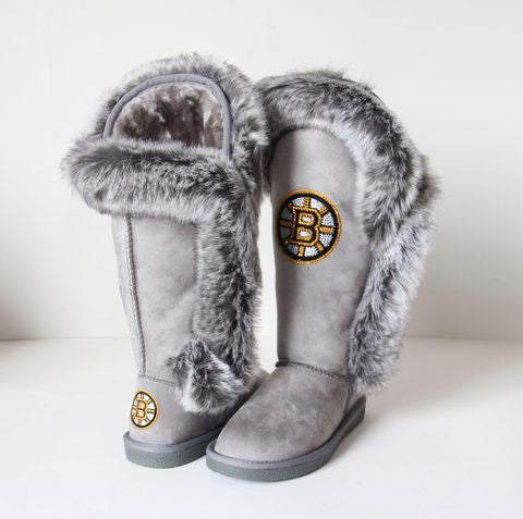 "Boston Bruins Women's Cuce Official NHL ""Winners"" Boots"