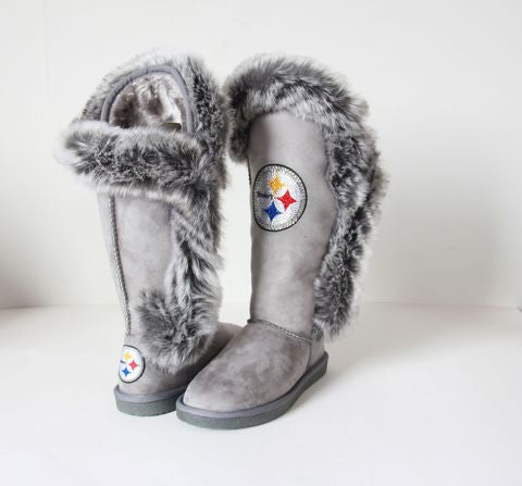 "Pittsburgh Steelers Women's Cuce Official NFL ""Winner"" Boots"