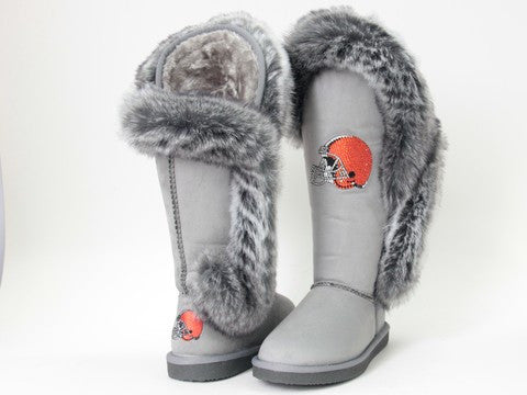 "Cleveland Browns Women's Cuce Official NFL ""Winner"" Boots"