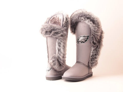 "Philadelphia Eagles Women's Cuce Official NFL ""Winner"" Boots"