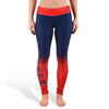 Anaheim Angels Womens Gradient Official MLB Leggings