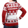 "Arkansas Razorbacks Women's Official NCAA ""Big Logo"" V-Neck Sweater"