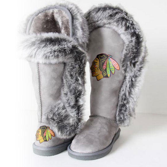 "Chicago Blackhawks Women's Cuce Official NHL ""Winner"" Boots"