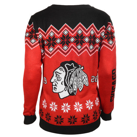 Chicago Blackhawks Women's Official NHL Cardigan Sweater