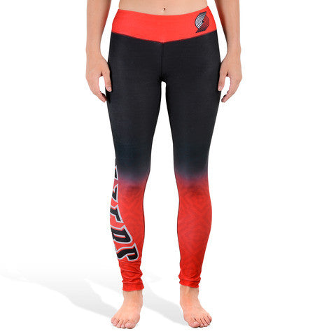 Portland Trailblazers Womens Gradient Official NBA Leggings