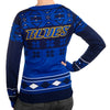 "St Louis Blues Women's Official NHL ""Big Logo"" V-Neck Sweater by Klew"