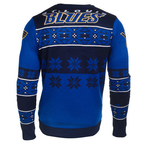 St Louis Blues Official Men's NHL Big Logo Sweater