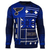 "St Louis Blues Official NHL Men's ""Ugly Sweater"""