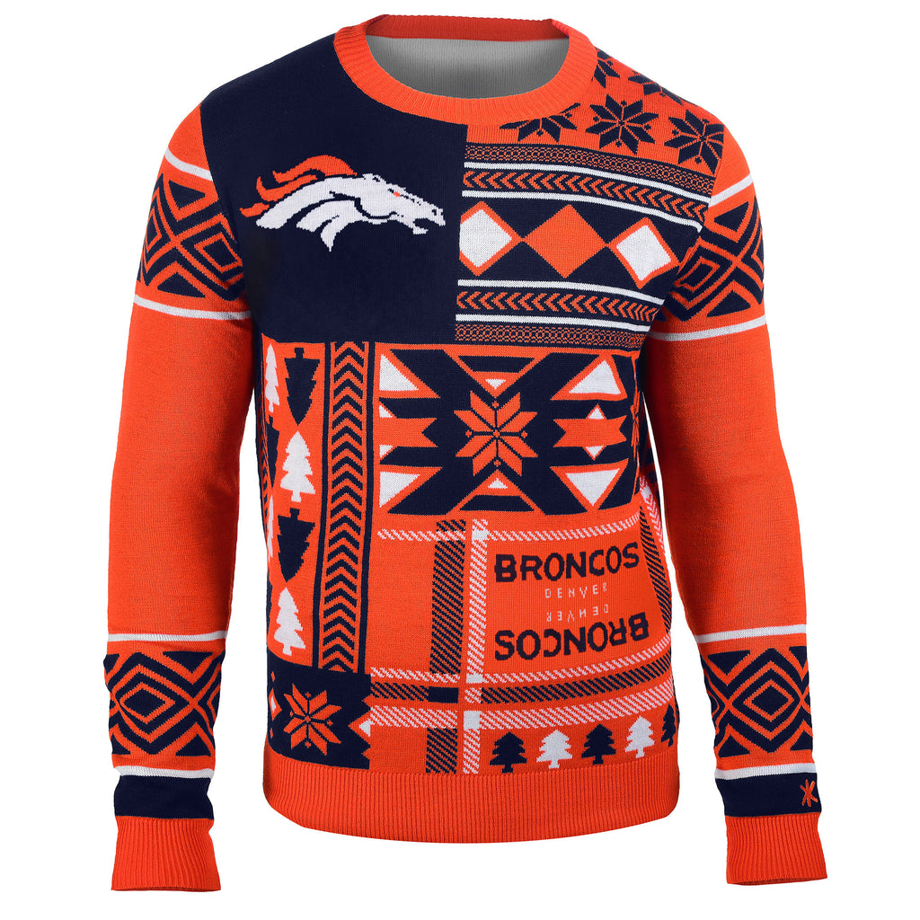 Denver Broncos Official NFL Ugly Sweater - Choose your Style!