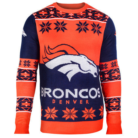 "Denver Broncos Official Men's NFL ""Big Logo"" Sweater"