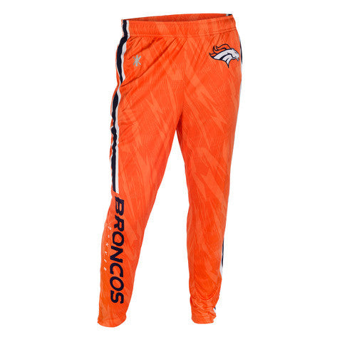 Denver Broncos Official NFL Men's Tapered Zip Up Pants