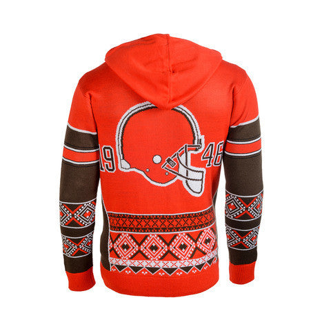 Cleveland Browns Official NFL Ugly Sweater - Choose your Style!