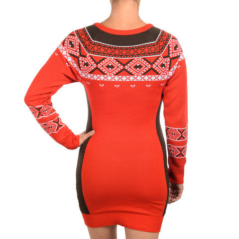 Cleveland Browns Official NFL Sweater Dress by Klew