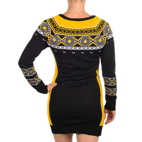 Boston Bruins Official NHL Sweater Dress by Klew
