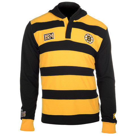 Boston Bruins Official NHL Cotton Rugby Hoody by Klew