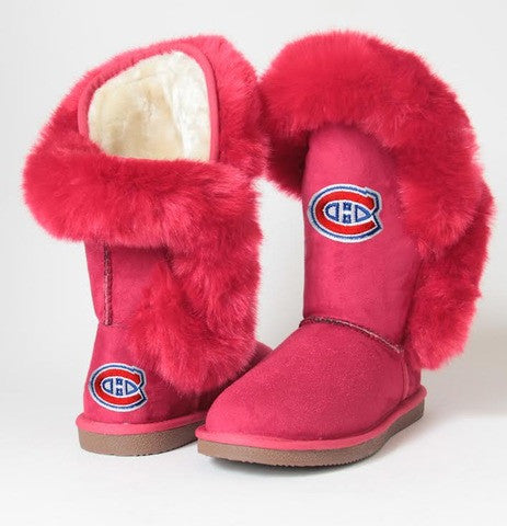 "Montreal Canadiens Women's Cuce Official NHL ""Champions"" Boots"