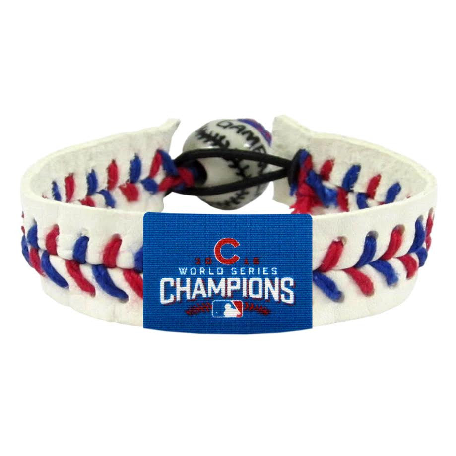 Chicago Cubs Official World Series Bracelets