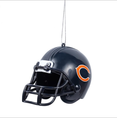 Chicago Bears NFL ABS Helmet Ornament