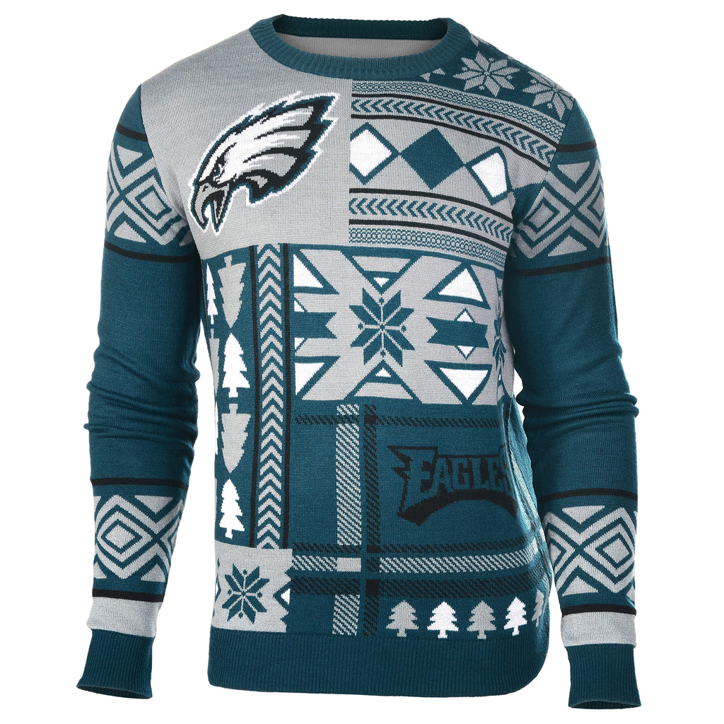 "Philadelphia Eagles Official Men's NFL ""Ugly Sweater"""
