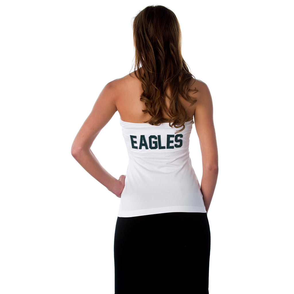 "Philadelphia Eagles Women's NFL ""Blown Coverage"" Green or White Halter"