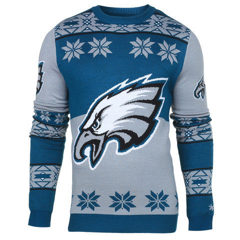 "Philadelphia Eagles Official Men's NFL ""Big Logo"" Sweater"