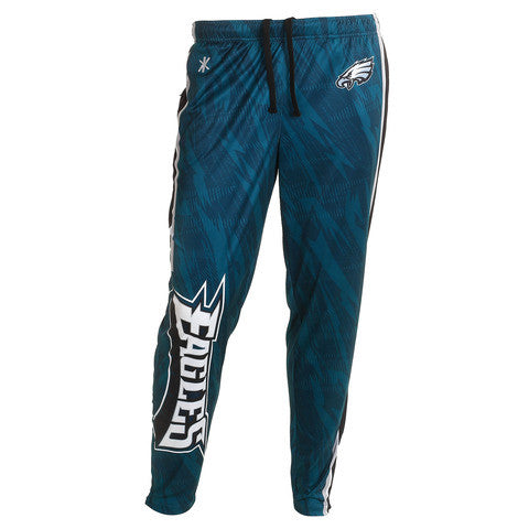 Philadelphia Eagles Official NFL Men's Tapered Zip Up Pants
