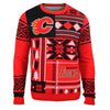 "Calgary Flames Official Men's NHL ""Ugly Sweater"" by Klew"