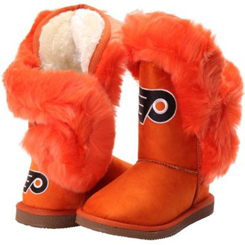 "Philadelphia Flyers Women's Cuce Official NHL ""Champions"" Boots"